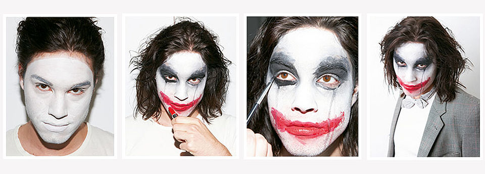 Halloween Schmink-Tutorial: Joker